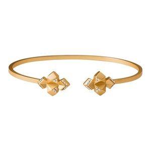 SPARTINA 449 Gold Crystal Cuff Bracelet NWT